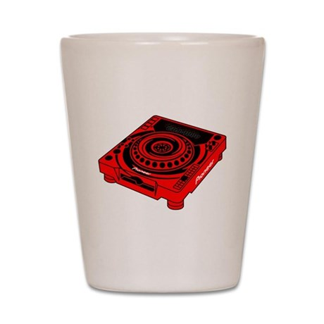 CDJ-1000 Swirl Shot Glass