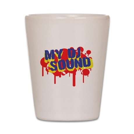 My DJ Sound Shot Glass