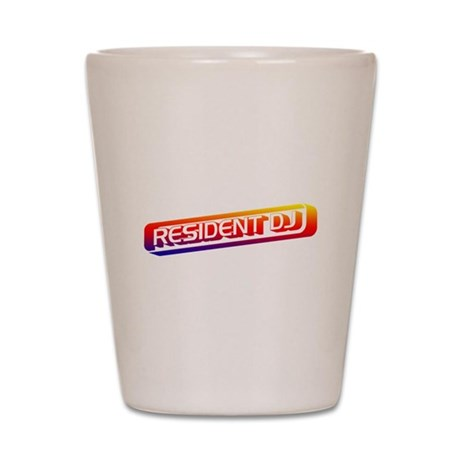 Resident DJ Shot Glass