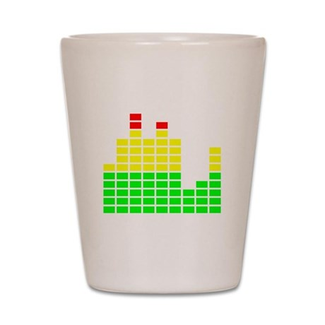 Equalizer Shot Glass