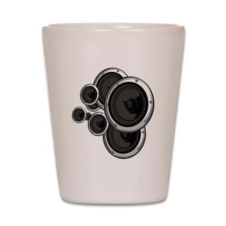 Speaker Wall Shot Glass