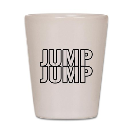 Jump Jump Shot Glass