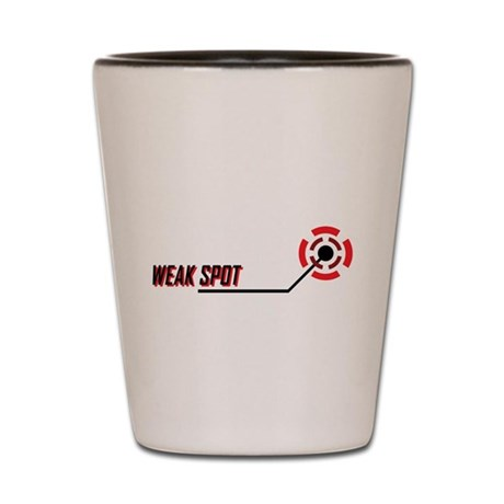 Weak Spot Shot Glass