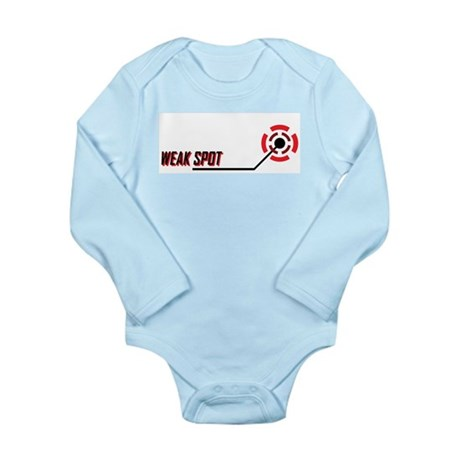 Weak Spot Long Sleeve Infant Bodysuit