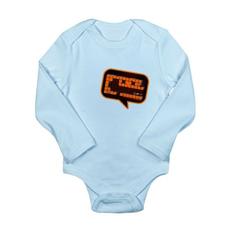 Shout Cool! Long Sleeve Infant Bodysuit