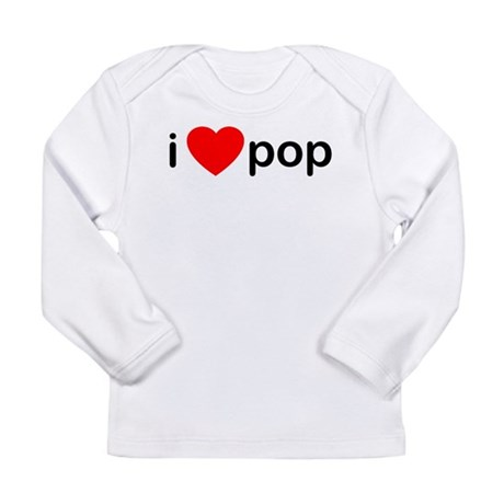 I Heart Pop Long Sleeve Infant T-Shirt