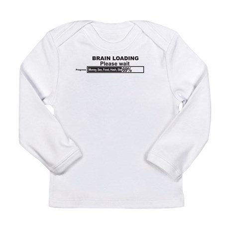 Brain Loading Long Sleeve Infant T-Shirt