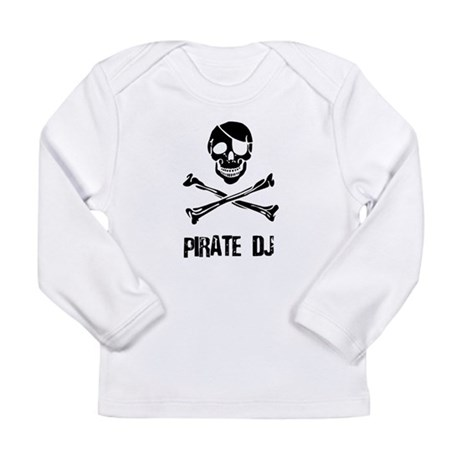 Pirate DJ Long Sleeve Infant T-Shirt