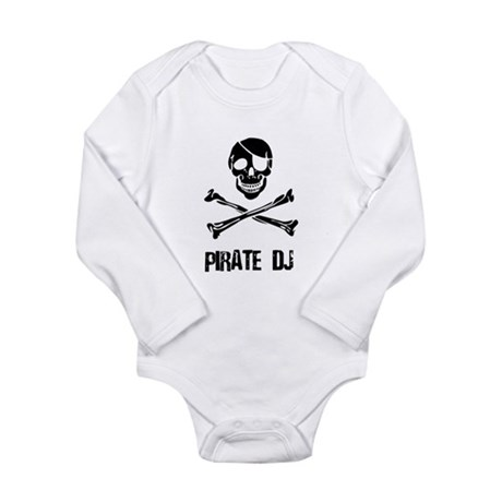 Pirate DJ Long Sleeve Infant Bodysuit