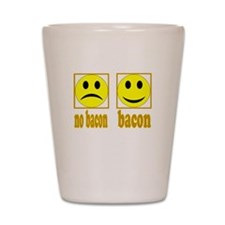 Hoo-Ray For Bacon Shot Glass