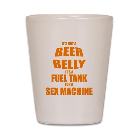 Beer Belly Shot Glass