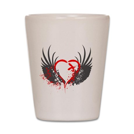 Blood Wings Shot Glass