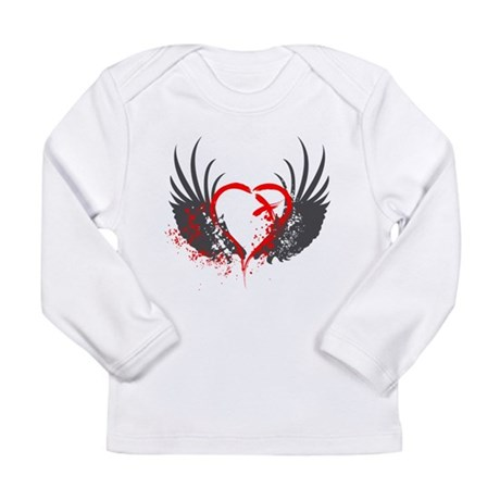 Blood Wings Long Sleeve Infant T-Shirt