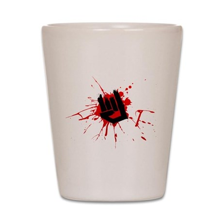 Rock Horns Shot Glass