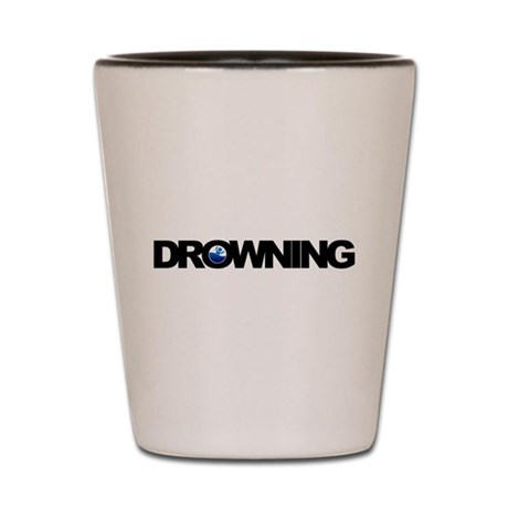 Drowning Shot Glass
