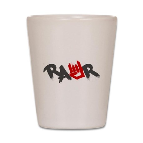 Rawr Logo Shot Glass