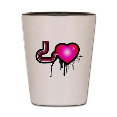 Love Pump Shot Glass