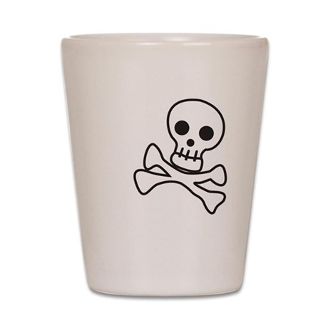 Cute Skull Shot Glass