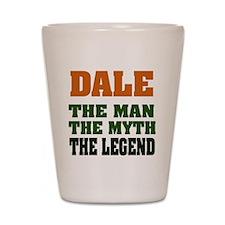 DALE - The Legend Shot Glass