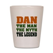 DAN - The Legend Shot Glass