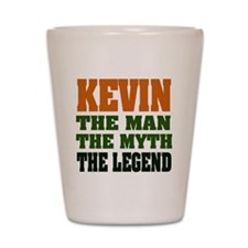 KEVIN - The Legend Shot Glass