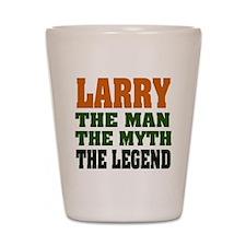LARRY - The Legend Shot Glass