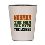 NORMAN - the legend! Shot Glass