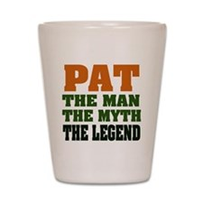 PAT - The Legend Shot Glass