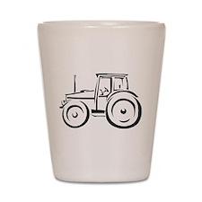Farm Tractor Shot Glass