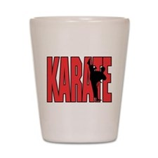Karate Shot Glass