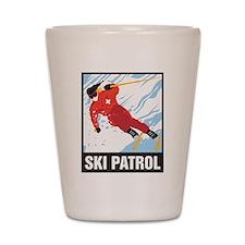 Ski Patrol Shot Glass