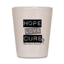 BrainCancerHope Shot Glass