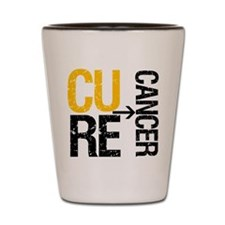 Cure Cancer (Childhood) Shot Glass