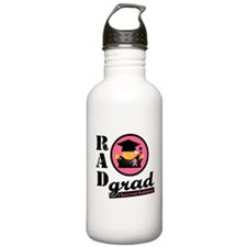 Rad Grad Breast Cancer Water Bottle