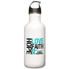 Ovarian Cancer Hope Water Bottle