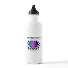 Thyroid Cancer Warrior Water Bottle