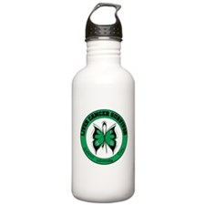 Liver Cancer Survivor Sports Water Bottle