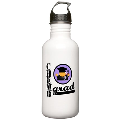 Chemo Grad Cancer Stainless Water Bottle 1.0L