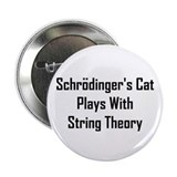 "Schrodinger's Cat Plays 2.25"" Button"