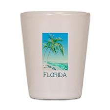 Florida Palms Shot Glass