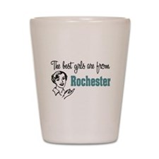 Best Girls Rochester Shot Glass