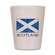 Scotland Flag Shot Glass