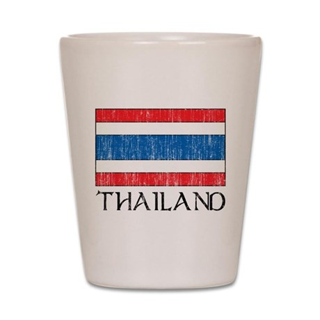 Thailand Flag Shot Glass
