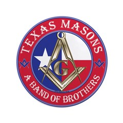 "Texas Brothers 3.5"" Button"