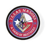 Texas Brothers Wall Clock