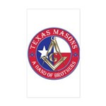 Texas Brothers Sticker (Rectangle)