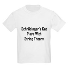 Schrodinger's Cat Plays T-Shirt