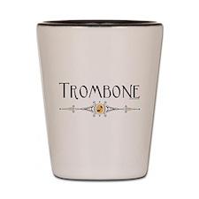 Trombone Shot Glass