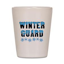 Winter Guard Shot Glass