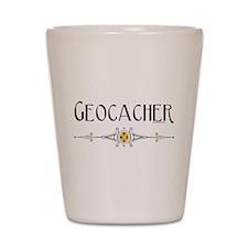 Geocacher Shot Glass